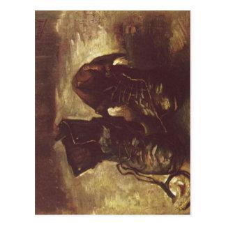 Gogh, Vincent Willem van Stilleben, Ein Paar Schuh Tarjeta Postal