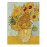 Gogh, Vincent Willem van Stilleben mit 12 Sonnenbl Post Cards