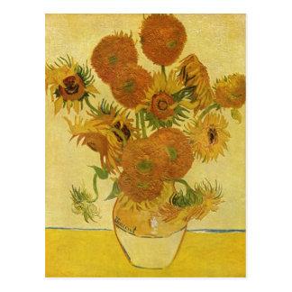 Gogh, Vincent Willem van Stilleben mit Sonnenblume Postcard