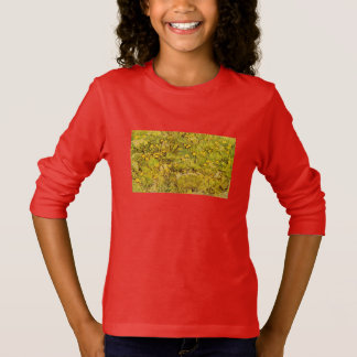 Gogh Yellow Blossoms Whimsical Wedding Personalize T-Shirt