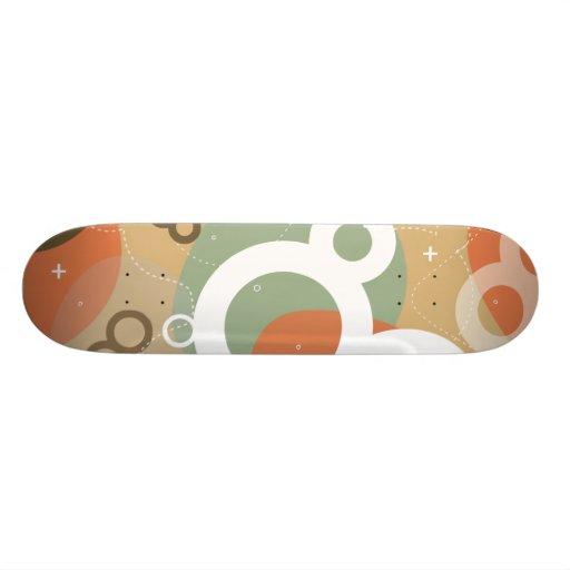 Gogo - monopatín abstracto urbano retro