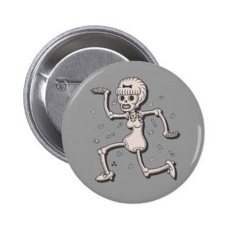 Gogo Skelegirl Button