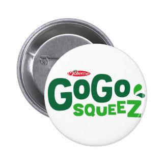 GoGo squeeZ logo Pinback Button