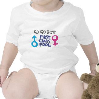 GoGoBot - tonto de la primera clase Traje De Bebé
