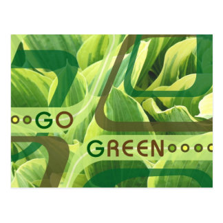 GoGreen Design1 Postcard