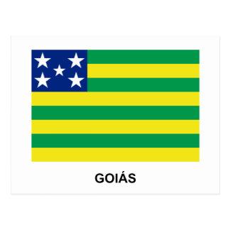 Goiás, Brazil Flag Postcards
