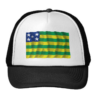 Goiás, Brazil Waving Flag Trucker Hat