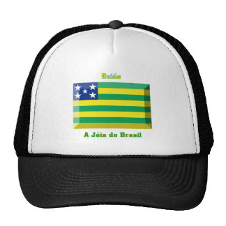 Goiás Flag Gem Trucker Hat