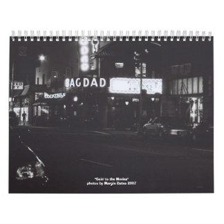 Goin a las películas calendario de pared