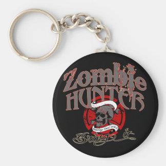 ¡Goin después de zombis! Llavero Redondo Tipo Pin