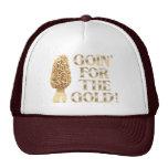 Goin para el oro gorros