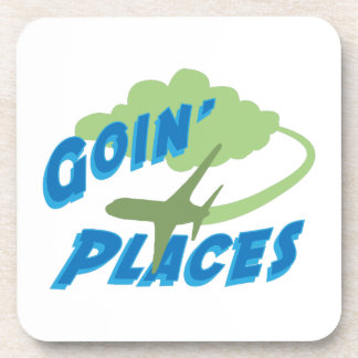 Goin' Places Beverage Coasters
