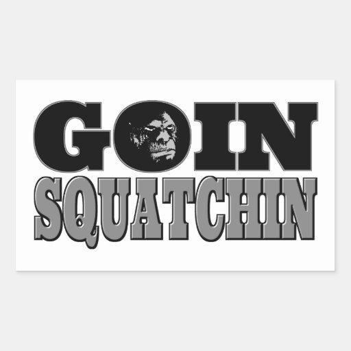 Goin Squatchin Rectangular Altavoces