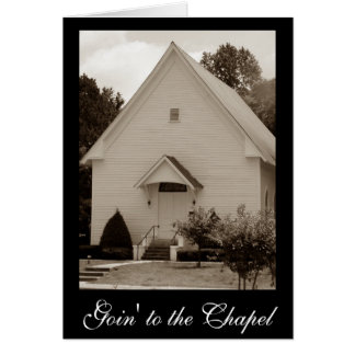 Goin' to the Chapel Cards