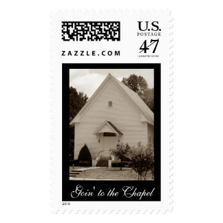 Goin' to the Chapel Postage