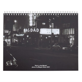 Goin' to the Movies Calendar