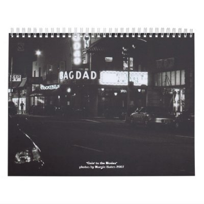 Goin' to the Movies Calendars