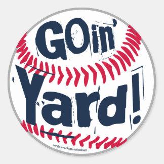 Goin' Yard! Sticker
