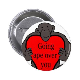 Going Ape Button