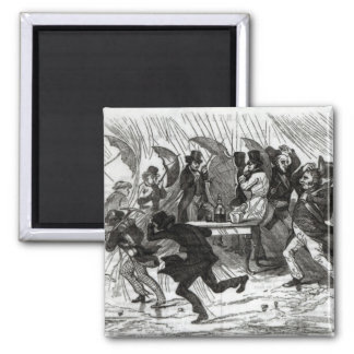 Going Around the Horn, 1849 Magnet