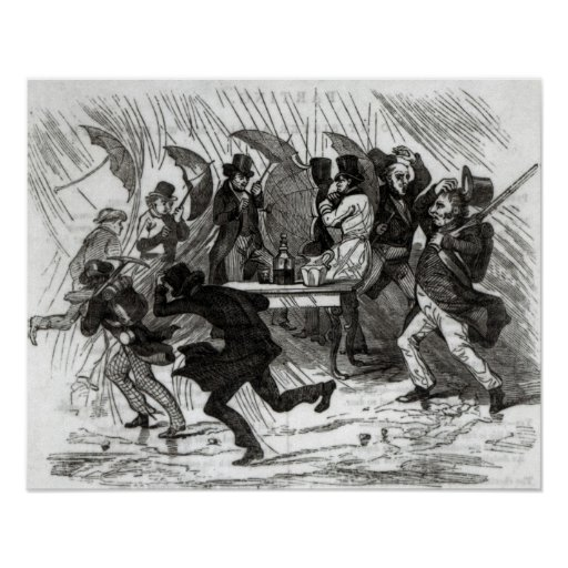 Going Around the Horn, 1849 Poster