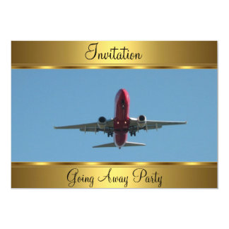 Going Away Party 5x7 Paper Invitation Card