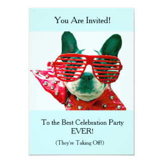 GOING AWAY/RELOCATION ABROAD PARTY! CARD