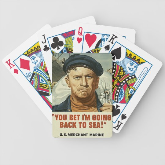 Going Back to Sea Playing Cards