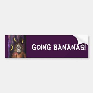 Going Bananas! Bumper Stickers