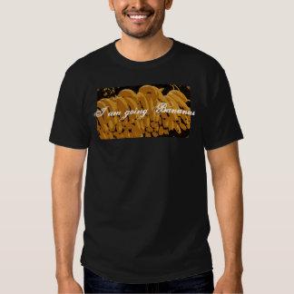 Going Bananas on Men's Basic Dark T-Shirt