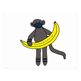 Going Bananas Over You Postcard