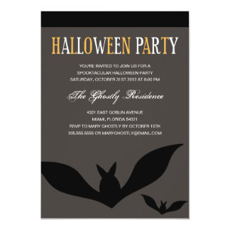 GOING BATTY | HALLOWEEN PARTY INVITES