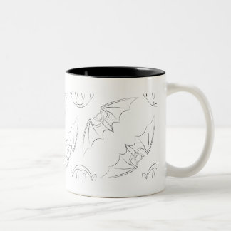 Going Batty Pattern Mug