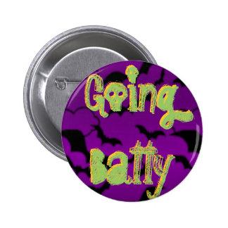Going Batty Pinback Button