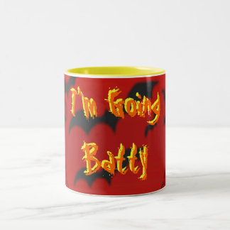 Going Batty Two-Tone Coffee Mug