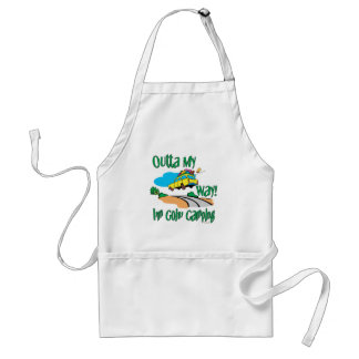 Going Camping Adult Apron
