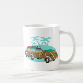 Going CAmping in my Woody Classic White Coffee Mug