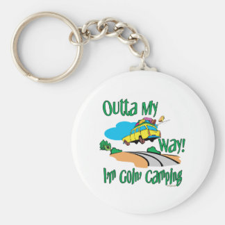 Going Camping Keychain