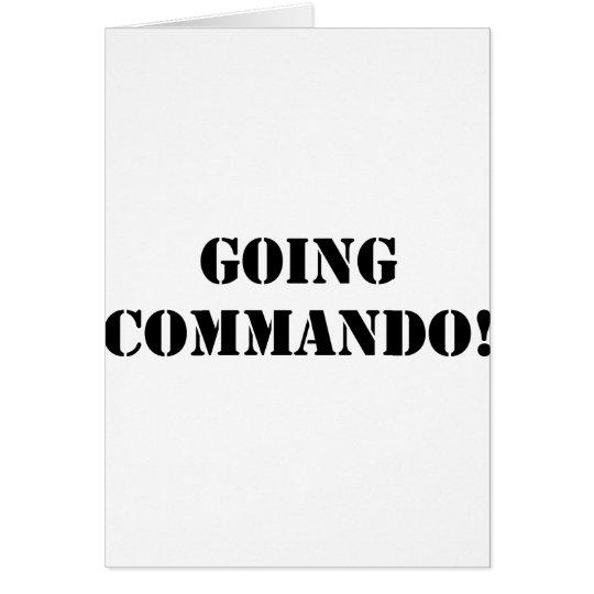 Going Commando Card