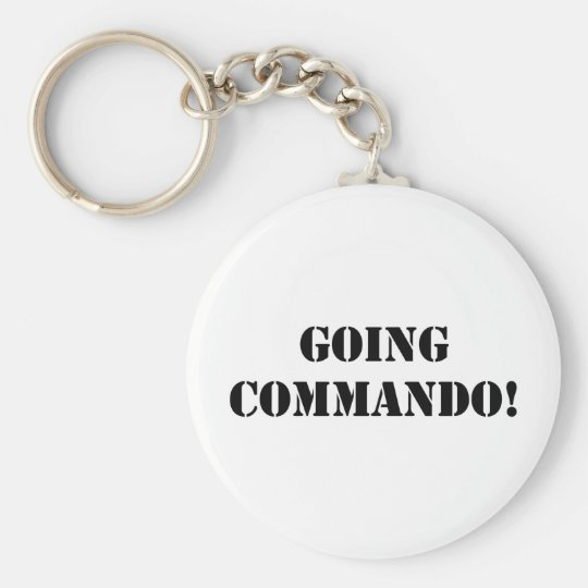Going Commando Keychain