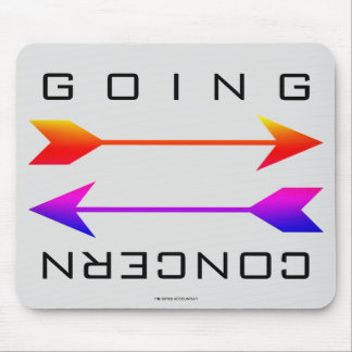"""""""Going Concern"""" Mouse Pad"""