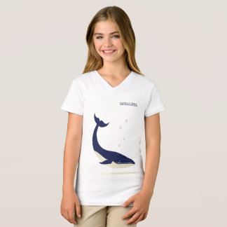 Going Deep Girl's V-Neck T-Shirt