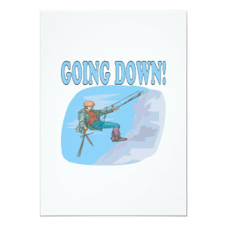 Going Down Card
