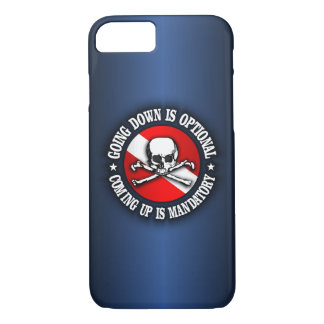 Going Down Is Optional (rd) iPhone 7 cases
