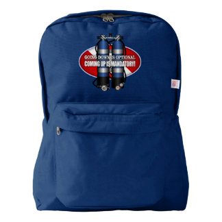 Going Down Is Optional (ST) Backpack