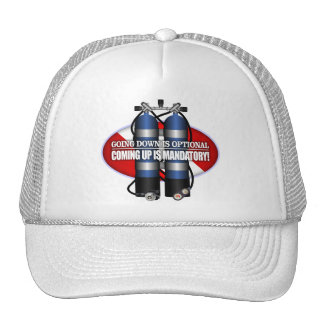 Going Down Is Optional (ST) Trucker Hat