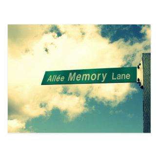 Going Down Memory Lane.. Postcard