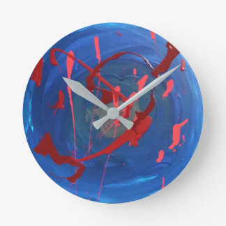 """""""Going Down Slow"""" Wall Clock"""