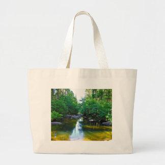 Going Down Stream Canvas Bag