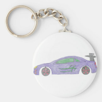 Going Fast Keychain